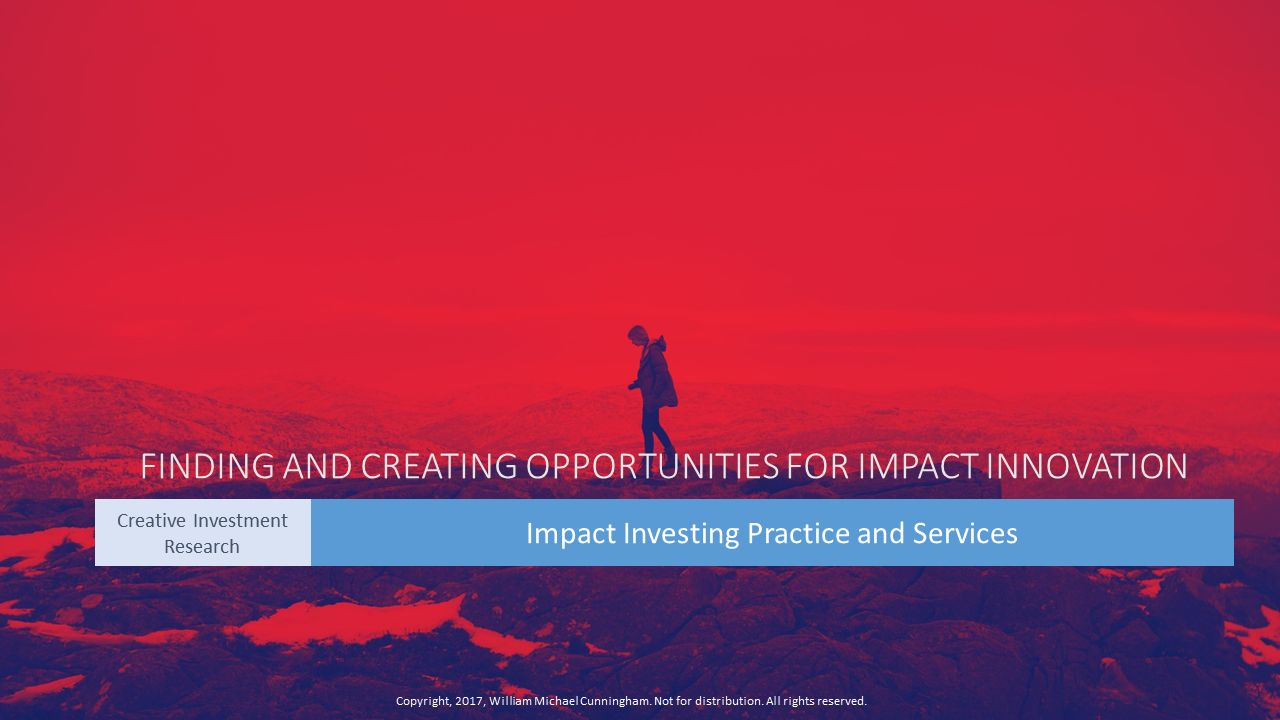 Creative Investment Research Vision and Mission